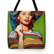 Sofia Loren Tote Bag