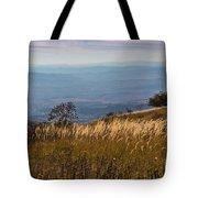 Sofia Valley From Vitosha Mountain October Early Twilight Tote Bag
