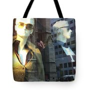 Sofie And Harry In Shades Tote Bag