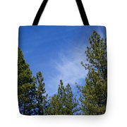 Soft And Gentle Sky Tote Bag