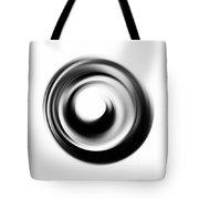 Soft Black Enso - Art By Sharon Cummings Tote Bag