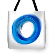 Soft Blue Enso - Abstract Art By Sharon Cummings Tote Bag