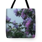 Soft Blues And Pink - Spring Blossoms Tote Bag