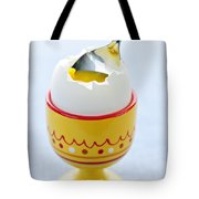 Soft Boiled Egg In Cup Tote Bag by Elena Elisseeva