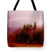 Soft Cape Breton Rainbow Tote Bag