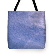 Soft Clouds Blue Sky Tote Bag