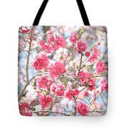 Soft Colors Of Spring Tote Bag