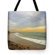 Soft Colors On The Coast Tote Bag by Lynn Bauer