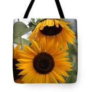 Soft Colors Sunflowers Tote Bag