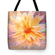 Soft Delightful Dahlia Tote Bag