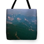 Soft Early Morning Light Over The Grand Canyon 5 Tote Bag