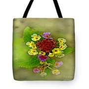 Soft Floral Duvet Cover Tote Bag