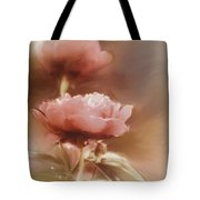 Soft Flower Digital Painting Tote Bag