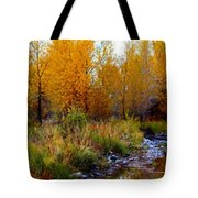 Soft Forest Colors Tote Bag