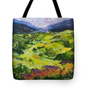 Soft Grass Tote Bag