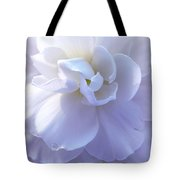 Soft Lavender Begonia Flower Tote Bag