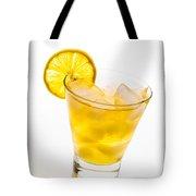 Soft Lemon Cocktail Tote Bag