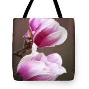 Soft Magnolia Blossoms Tote Bag