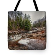 Soft Maple Water Fall Tote Bag
