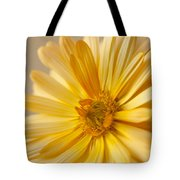 Soft Marigold Tote Bag by Anne Gilbert