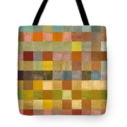 Soft Palette Rustic Wood Series Collage Lll Tote Bag