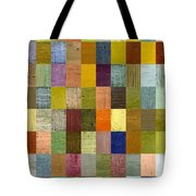 Soft Palette Rustic Wood Series With Stripes 2x3 Tote Bag by Michelle Calkins