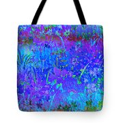 Soft Pastel Floral Abstract Tote Bag