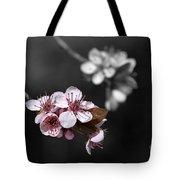 Soft Pink Blossom Tote Bag