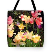Soft Spring Colors Tote Bag