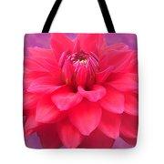 Softer Summer Dahlia Tote Bag