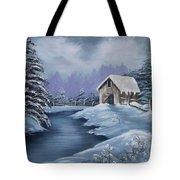 Softest Snow Tote Bag