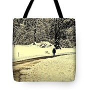 Softly As I Leave You Tote Bag