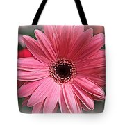 Softly In Pink - Zinnia Tote Bag