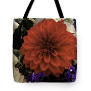 Softly Red Tote Bag