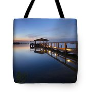Softly The Morning Arrives Tote Bag