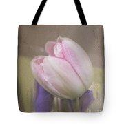 Softly Tulip Tote Bag