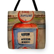 Sohio Gasoline Pump Tote Bag
