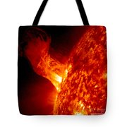 Solar Eruption Tote Bag