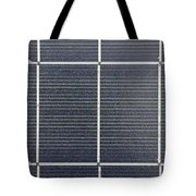 Solar Panel Collector Closeup View Tote Bag