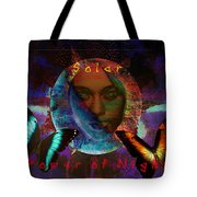 Solar Night Tote Bag
