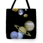 Solar System Montage Tote Bag