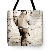 Soldier Boys Wooden Rifles Tote Bag