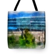 Soldier Field Chicago Photo Art 01 Tote Bag