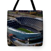 Soldier Field Chicago Sports 06 Tote Bag