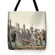 Soldiers And Artillery Of The 15th Tote Bag