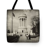 Soldiers Memorial - Ny - Toned Tote Bag
