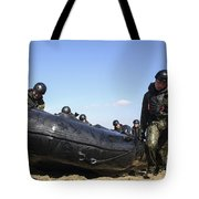 Soldiers Of The Japan Ground Tote Bag