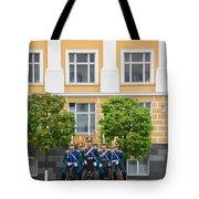 Soldiers Of The Presidential Regimental Tote Bag