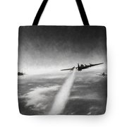 Wounded Warrior - Charcoal Tote Bag