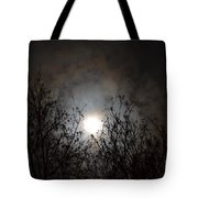 Solemn Winter's Moonlight Tote Bag